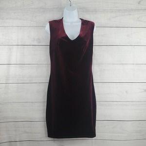 Lovesick Crush Velvet Body Con Dress